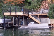 Custom Boat Dock - AFTER
