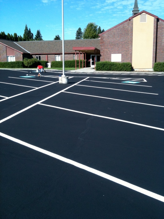 Paving Parking Lot Striping And Sealcoating Champion