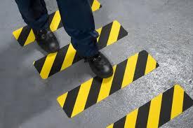 Anti-slip stairs