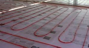 radiant-heat flooring