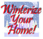 Winterize the home
